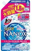 LION «Top Super NANOX» Жидкое средство для стирки, запасной блок, 660 г.