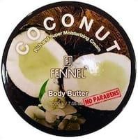 FENNEL Увлажняющий крем для тела с маслами ши, кокоса и экстрактом фенхеля, 200 гр.