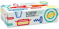 """Crecia 321406 NP Бумажные кухонные полотенца в коробке Crecia """"Scottie"""" двухслойные 75шт/36"""