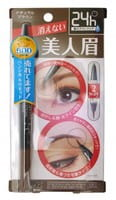 """B&C Laboratories """"Brow Lash Ex Water Strong Eyebrow Liquid&Liner"""" Водостойкая подводка для бровей (жидкая подводка + карандаш), коричневая."""