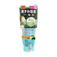 """B&C Laboratories """"Tsururi Mineral Clay Pack"""" Крем-маска для лица с белой глиной, коралловой пудрой и морскими водорослями, 150 г."""
