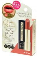 """Koji Honpo Увлажняющая губная помада, тон 02 """"терракотово-коричневый""""."""