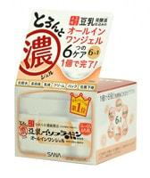 """Sana """"Soy Milk Gel Cream"""" Крем-гель увлажняющий с изофлавонами сои 6 в 1, 100 г."""