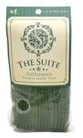 Ohe Corporation «TS Body Towel» Мочалка для тела мягкая «Премиум», тёмно-зелёная.