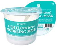 Lindsay Моделирующая альгинатная маска для лица с экстрактом листьев чайного дерева, 30 г.