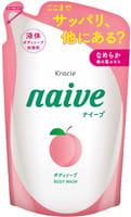 KRACIE Мыло жидкое для тела с экстрактом листьев персикового дерева, сменная упаковка, 380 мл.
