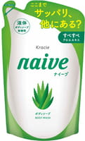 KRACIE Мыло жидкое для тела с экстрактом алоэ, сменная упаковка, 380 мл.