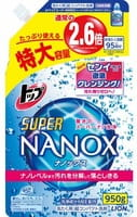 """Lion """"Top Super NANOX"""" Жидкое средство для стирки, запасной блок, 950 г."""