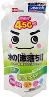 LEC Универсальное средство на основе щелочной воды с дезинфицирующим и дезодорирующим эффектом для любых поверхностей, спрей, сменная упаковка, 450 мл.