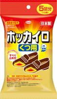 KOWA Одноразовые самоклеющияся грелки для ступней ног (сохраняют тепло 5 часов), 70x90 мм, 5 пар.
