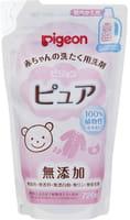 PIGEON-ЯПОНИЯ Жидкое средство для стирки детского белья без аромата и флуоресцентных добавок, сменная упаковка, 720 мл.