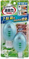 """ST """"Shoshuriki - Свежая зелень"""" Жидкий дезодорант-ароматизатор для обуви, 1 пара."""