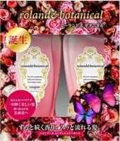Roland Набор: восстанавливающий шампунь 550 мл + кондиционер для придания блеска волосам 550 мл.