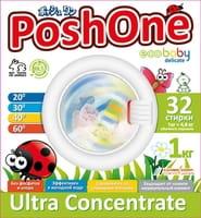 C&E «Posh One Eco Baby Delikate» Концентрированный стиральный порошок, с мерной ложечкой, 1 кг.