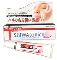 Hadariki «Shiwa To Rich» Крем вокруг глаз против мелких морщин, 20 г.