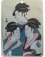 Mitomo Маска для лица «Золото + экстракт цветков сакуры», 25 г.