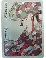 Mitomo Маска для лица «Алоэ + экстракт цветков сакуры», 25 г.