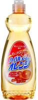 Mitsuei Средство для мытья посуды, овощей и фруктов с ароматом апельсина, 600 мл.