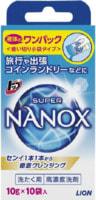 LION «Top Nanox» Гель для стирки, 10 шт. х 10 г.