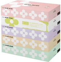 NEPIA «Nepi Nepi» Двухслойные бумажные салфетки с цветочным ароматом, 5 х 160 шт.