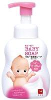 COW «Kewpie» Детская пенка «Без слёз» для мытья волос и тела, с первых дней жизни, с ароматом детского мыла, 400 мл.