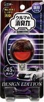 ST Освежитель воздуха для автомобильного кондиционера, корпус «дерево», с ароматом мускуса, 3,2 мл.