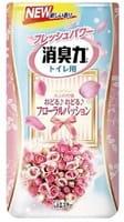 ST «Shoshuriki» Жидкий ароматизатор для туалета «Цветочная страсть», 400 мл.