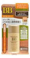 "Meishoku ""Moist-Labo BB Liquid Foundation"" Жидкая тональная основа, 25 мл, тон 3 (натуральная охра), SPF28 PA++."