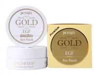 PETITFEE «Gold & EGF Eye & Spot Patch» Гидрогелевая маска для кожи вокруг глаз с золотом и EGF «Премиум», 60 шт.
