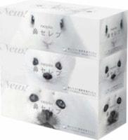 """Nepia """"Весёлые носики"""" Салфетки бумажные, спайка - 3 коробки по 200 салфеток."""