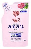 SARAYA «Arau» Жидкое средство для мытья посуды, запасной блок, 380 мл.