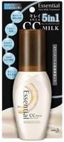 """KAO """"Essential"""" Восстанавливающее и увлажняющее молочко для волос, для применения на ночь, с ароматом свежих цветов, 100 мл."""
