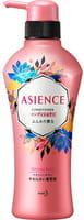 KAO «Asience» Разглаживающий кондиционер для волос с маслом арганы и камелии, с ароматом белых цветов, 450 мл.