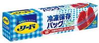 LION «Reed» Пакеты с замком Zip-lock для хранения замороженных продуктов в морозильнике, 15 шт., размер 27,9х26,8 см.