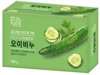 """Mukunghwa """"Moisture Cucumber Soap"""" Увлажняющее косметическое мыло с экстрактом огурца, 100 гр."""