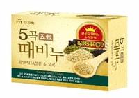 """Mukunghwa """"Grain Body Soap"""" Отшелушивающее и питающее мыло для тела с 5 злаками, 100 гр."""