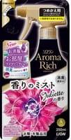 LION «Juliette» Кондиционер-спрей для белья со сладким цветочным ароматом, мягкая упаковка, 250 мл.