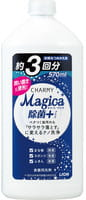"""Lion """"Charmy Magica+"""" Средство для мытья посуды концентрированное, с ароматом зелёных цитрусовых, 570 мл."""