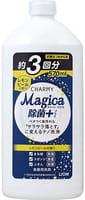 LION «Charmy Magica+» Средство для мытья посуды концентрированное, с ароматом цедры лимона, 570 мл.