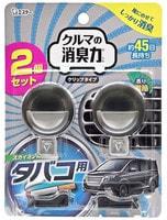 ST Освежитель воздуха для автомобильного кондиционера, с ароматом мяты, 2 х 3,2 мл.
