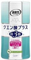 ST «Shoshuriki» Жидкий ароматизатор для туалета «Свежескошенный луг» (экстра-формула с лимонной кислотой), 400 мл.
