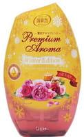 ST «Shoshuriki» Жидкий освежитель воздуха для комнаты, букет счастья «Дамасская и болгарская розы», 400 мл.
