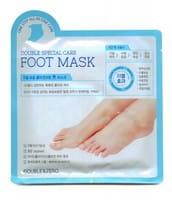 Double&Zero «Double Special Care Foot Mask» Маска для ног «Комплексный уход», 2 шт. х 20 г.