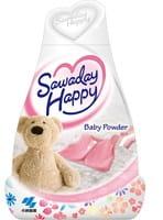 """Kobayashi """"Baby Powder - Sawaday Happy"""" Освежитель воздуха для комнаты, нежный аромат детской присыпки, 150 гр."""