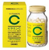 Orihiro Витамин С, 300 гранул.