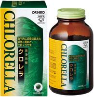 ORIHIRO Хлорелла, 1400 таблеток.