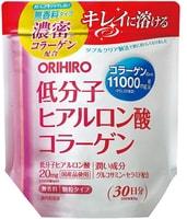 Orihiro Коллаген + гиалуроновая кислота, 180 гр.