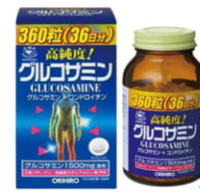 Orihiro Глюкозамин с хондроитином и витаминами, 360 таблеток.