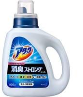 """KAO """"Attack"""" Высокоэффективный гель для стирки белья и устранения стойких запахов с ароматом свежих трав, бутылка, 900 гр."""