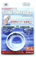 M-Kaep Германиевый браслет, размер М - 16,3 см, белый.
